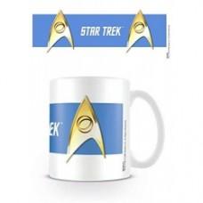 Star Trek mug sciences blue