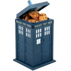 Doctor Who Tardis Lights & Sounds Cookie Jar