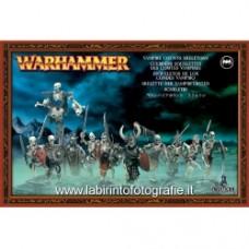 Warhammer - Scheletri Guerrieri dei Conti Vampiro