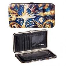 Doctor Who Van Gogh Exploding TARDIS Wallet