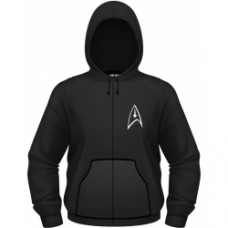 Star Trek - Badge - Felpa Con Cappuccio Uomo taglia M