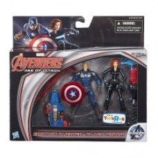 Marvel Avengers Age of Ultron Captain America and Black Widow