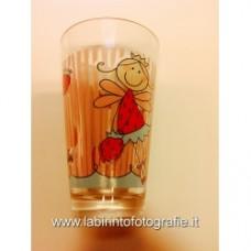 Bicchiere Mila bambina con fragole