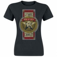 Supernatural ladies t-shirt Crowley