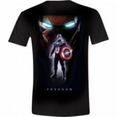 Captain America Civil War - Captain America Posing Men T-Shirt