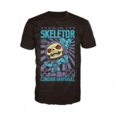 Masters of the Universe - Skeletor Poster Pop! T-Shirt - Black