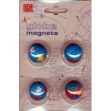 set magneti mappamondo