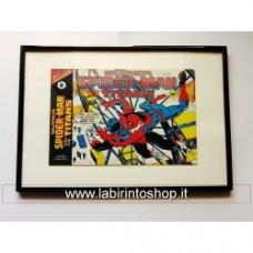 Fumetto Marvel originale 1977 con cornice 30x40