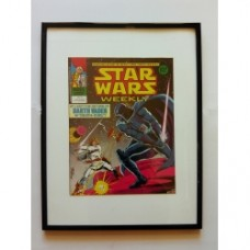 Fumetto Star Wars originale 1978 con cornice 30x40 nera