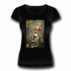 Harley Quinn Bomb T-Shirt Donna