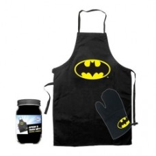 Batman Cooking Apron and glove