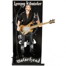 Motorhead Action Figure Lemmy Kilmister Rickenbacker Guitar Cross 16 cm