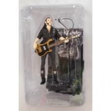 Motorhead Action Figure Lemmy Kilmister Black Pick Guard Guitar 16 cm