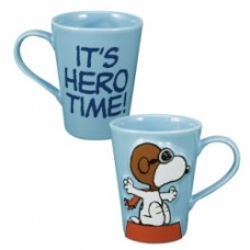 Peanuts it's hero time sculpted mug