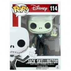 Nightmare Before Christmas Jack Skellington with Snowflake  Pop! Vinyl Figure