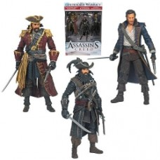 Assassin's Creed Series 1 Pirate Action Figure 3-Pack