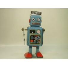 robot azzurro 12 cm