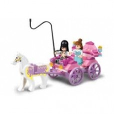 Sluban Girl's dream - Princess Carriage M38-B0239