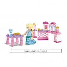 Sluban - Girl's dream Princess M38-B0238
