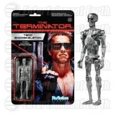 Terminator Chrome T-800 ReAction 3 3 4-Inch Retro Action Figure