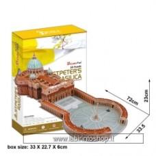 3D Puzzle - St Peter's Basilica