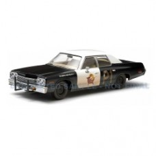 The Blues Brothers Bluesmobile 1974 Dodge Monaco 1:43 Scale Die-Cast Metal Vehicle