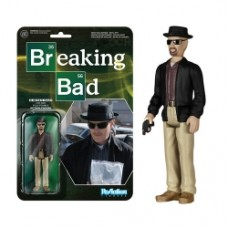 Breaking Bad Heisenberg ReAction 3 3 4-Inch Retro Action Figure