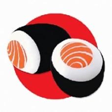 cojin sake maki cuscino sushi