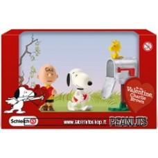 Peanuts Figure 3-Pack Valentine 5 cm