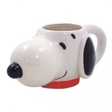 Peanuts Snoopy Head 15 oz Molded Ceramic Mug