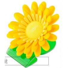 vigar daisy clip magnet set of 3 - Yellow