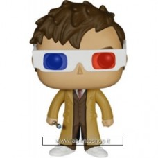 Doctor Who POP! Television Vinyl Figure 10th Doctor 3-D Special Limited Edition