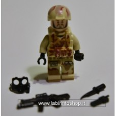 Brick-one Minifigure Desert - Chemical Hazzard