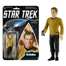 Star Trek Captain Kirk ReAction 3 3 4-Inch Retro Action Figure