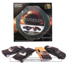 Supernatural 1:64 Series 2 Die-Cast Vehicle 4-Pack