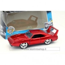 DODGE CHARGER DAYTONA 1969 Fast Furious RED 1:32 Jada Toys