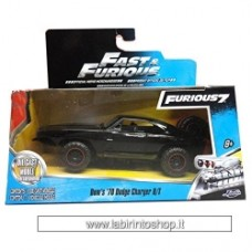 Charger R/T Off Road 1970 Fast Furious BLACK 1:32 Jada Toys