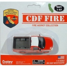 cdf fire ford f 150 pickup in red