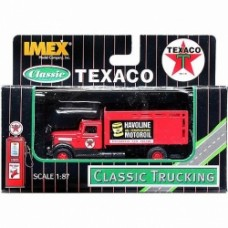 texaco havoline peterbilt high box truck
