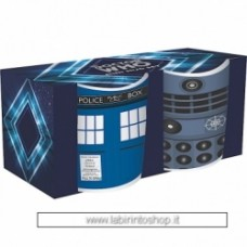 Doctor Who Set of 2 Mini Mugs