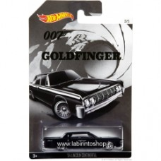 Hot Wheels James Bond 007 - Goldfinger - '64 Lincoln Continental
