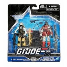 G.I. Joe 50th Anniversary Action Figures 2-Packs exclusive Steel Brigade Iron Grenadier