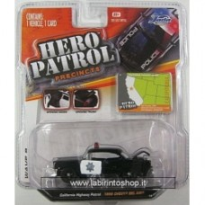 JADA - HERO PATROL - 1956 CHEVY BEL AIR - California Highway Patrol - 1:64