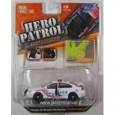 Jada 1:64 Hero Patrol 2010 CHEVY IMPALA - Washington, DC Metropolitan Police