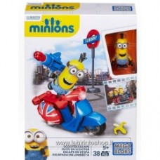 Mega Bloks Minions Movie Mega Bloks Scooter Escape