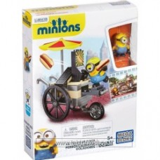 Mega Bloks Minions Movie Flying Hot Dogs