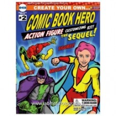 Create Your Own Comic Book Hero Action Figure Kit: The Sequel Set