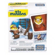 Mega Bloks Minions Movie Snowball Fight