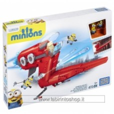 Mega Bloks Despicable Me Minion Movie Supervillain Jet