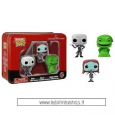 Funko Pocket POP Nightmare Before Christmas 3 Pack Tin